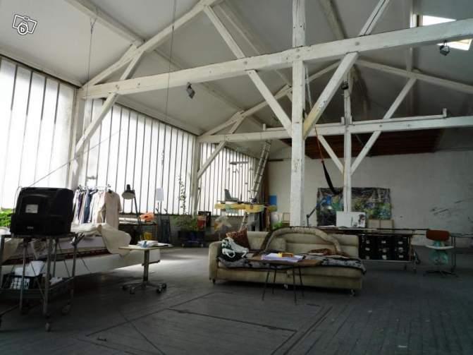 Atelier d 39 artiste r nover aubervilliers aubervilliers for Loft atelier artiste