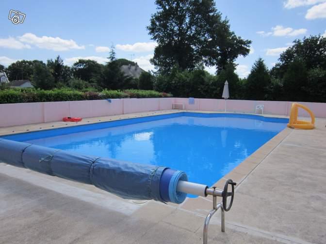 Maison plain pied avec piscine crossac d partement 44 for Piscine 44