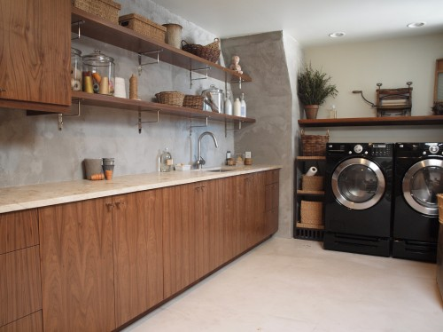 Buanderie Moderne - Modern Laundry Room - Architecture