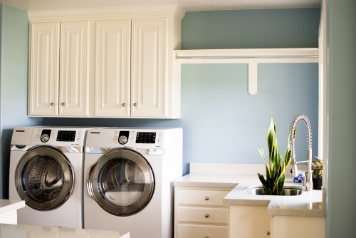 Buanderie Moderne - Laundry room - Architecture