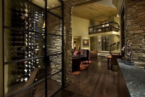 Cave 224 Vin Contemporain Wine Room Architecture