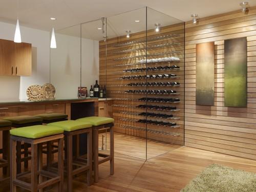 cave vin moderne fulcrum structural engineering architecture. Black Bedroom Furniture Sets. Home Design Ideas