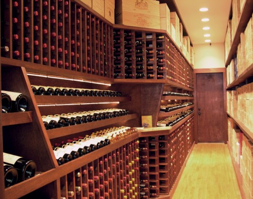 Cave à vin Moderne - Wine room - Architecture