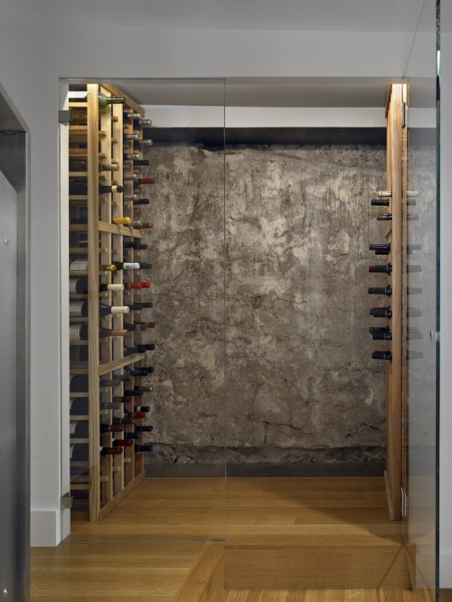 cave vin moderne noe wine cellar architecture. Black Bedroom Furniture Sets. Home Design Ideas