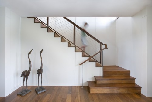 Escalier Contemporain - Seabrook Island Contemporary - Architecture