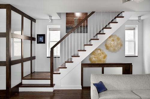 Escalier Contemporain - Wrigleyville Residence - Architecture