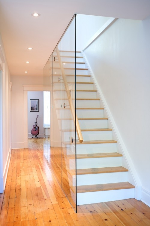 Escalier moderne residential interior photography architecture for Escaliers modernes