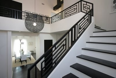 Escalier Moderne - Modern Design Steel Staircase Railings - Architecture