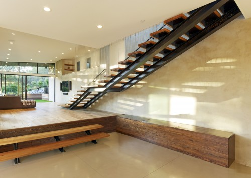 Escalier Moderne - Mill Valley CA MODERN ADDITION TO MID CENTURY ...