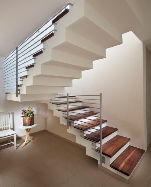 Escalier Moderne - staircase - Architecture