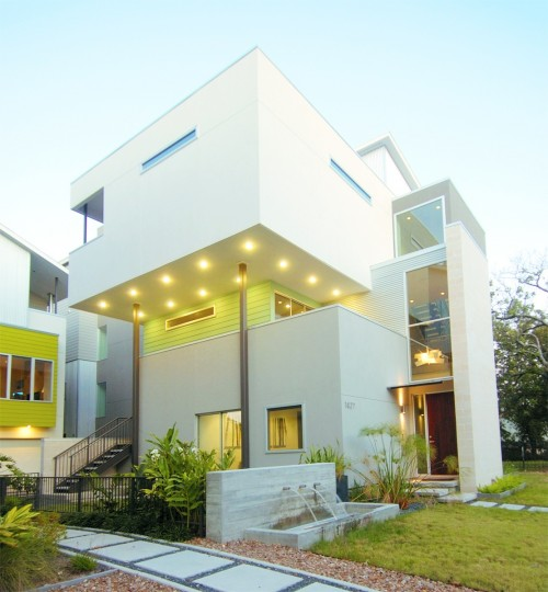exterieur contemporain bhutani residence architecture. Black Bedroom Furniture Sets. Home Design Ideas