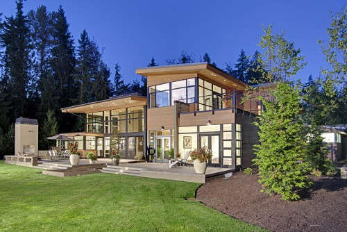 Exterieur Contemporain - Forest House - Exterior - Architecture