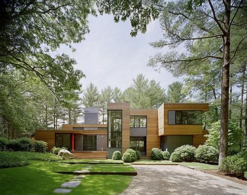 Exterieur Contemporain - Home designs - Architecture