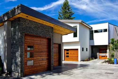 Garage Contemporain Kellet Project Architecture