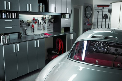 garage contemporain garages architecture. Black Bedroom Furniture Sets. Home Design Ideas