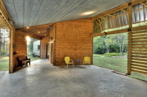 garage contemporain carport architecture. Black Bedroom Furniture Sets. Home Design Ideas