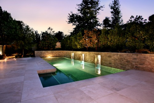Piscine moderne ams landscape design studios inc for Piscine moderne design