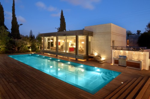 Piscine moderne pool architecture - Piscine moderne ...