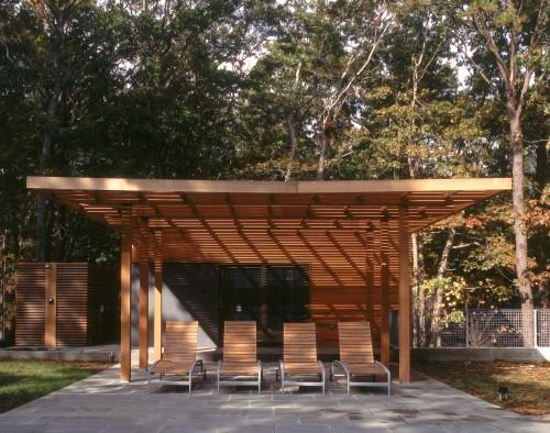 piscine moderne swingline pool house architecture. Black Bedroom Furniture Sets. Home Design Ideas