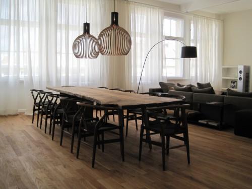 Salle manger contemporain loft project berlin for Salle a manger loft