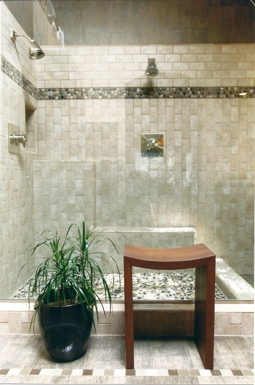 salle de bain asiatique