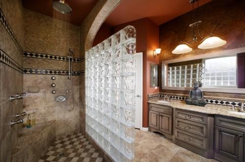 salle de bain asiatique - tub-less - architecture - Salle De Bain Asiatique