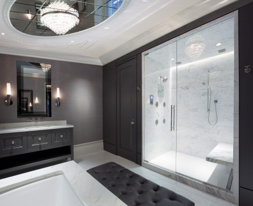 salle de bain contemporain - master bathroom - architecture - Salle De Bain Contemporain