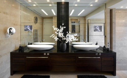 Salle De Bain Contemporain - Bathroom - Architecture