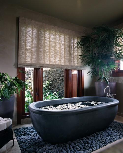 Salle De Bain Tropical Bathroom Retreat Architecture
