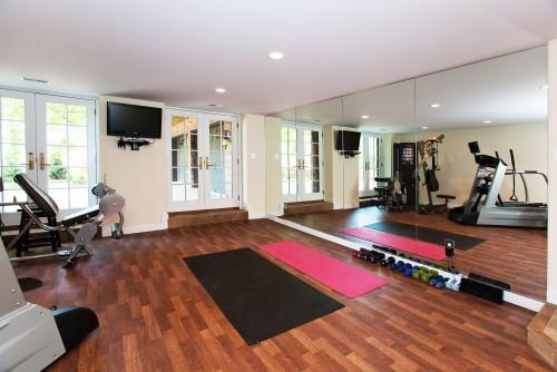 Salle De Sport Moderne Workout Room Architecture