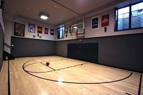 Salle De Sport Moderne Lower Level Architecture