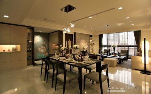 Salon asiatique purity design architecture for Salon style asiatique