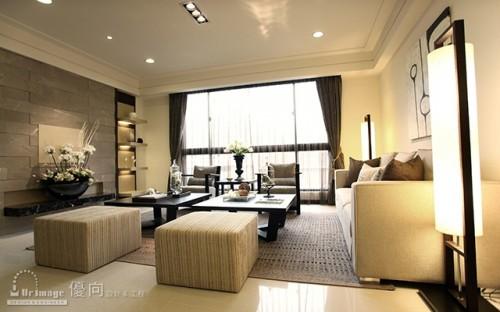 Salon asiatique purity design architecture - Salon style asiatique ...